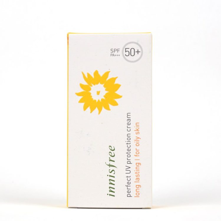 INNISFREE Perfect UV Protection Cream Long Lasting For Oily Skin review