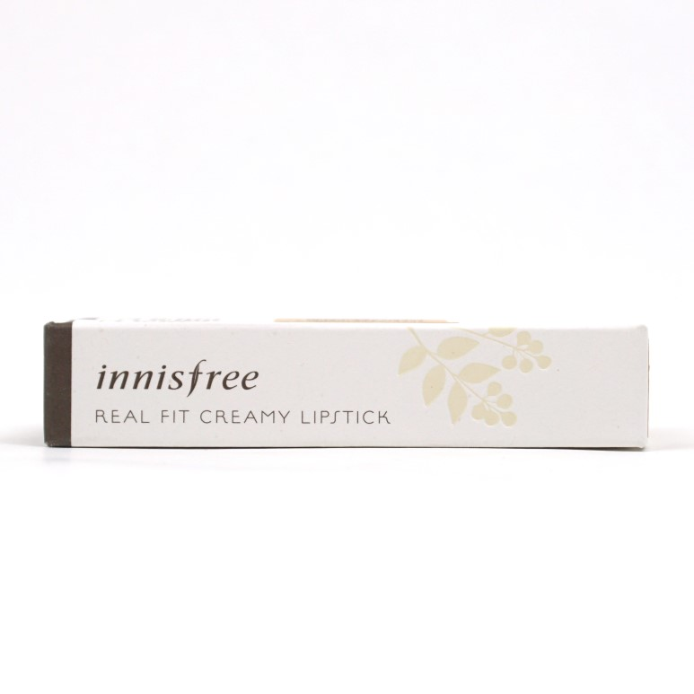 INNISFREE Real Fit Creamy Lipstick review