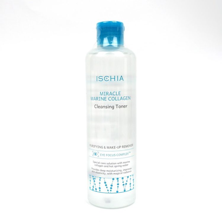 ISCHIA Miracle Marine Collagen Cleansing Toner review