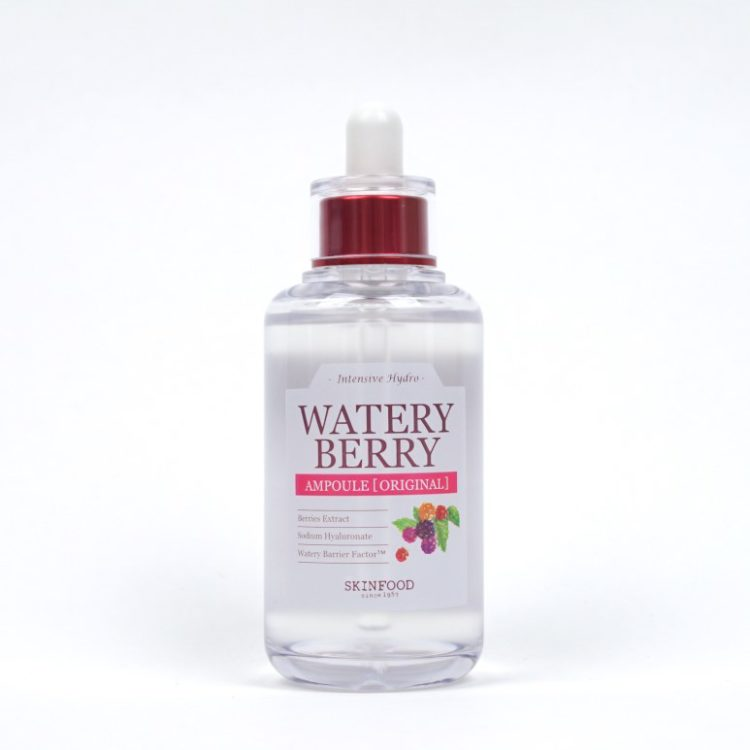 SKINFOOD Watery Berry Ampoule Light review