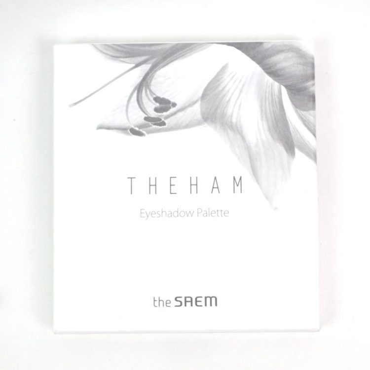 THE SAEM The Ham Eyeshadow Palette review