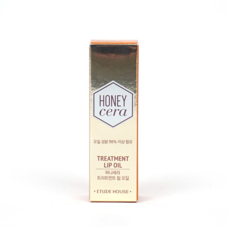 ETUDE HOUSE Honey Cera Treatment Lip Oil review