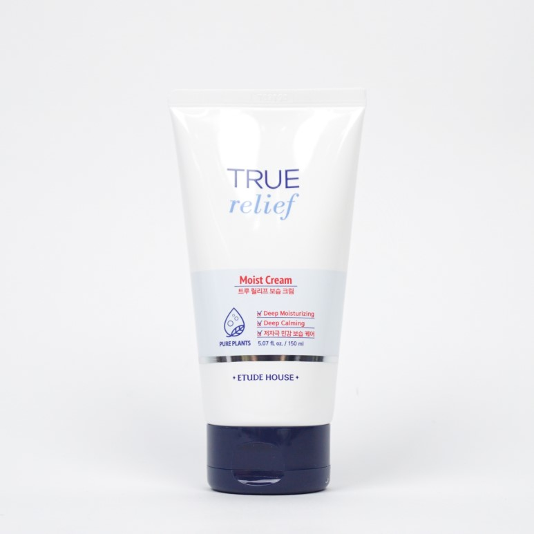 ETUDE HOUSE True Relief Moist Cream Jumbo Tube review