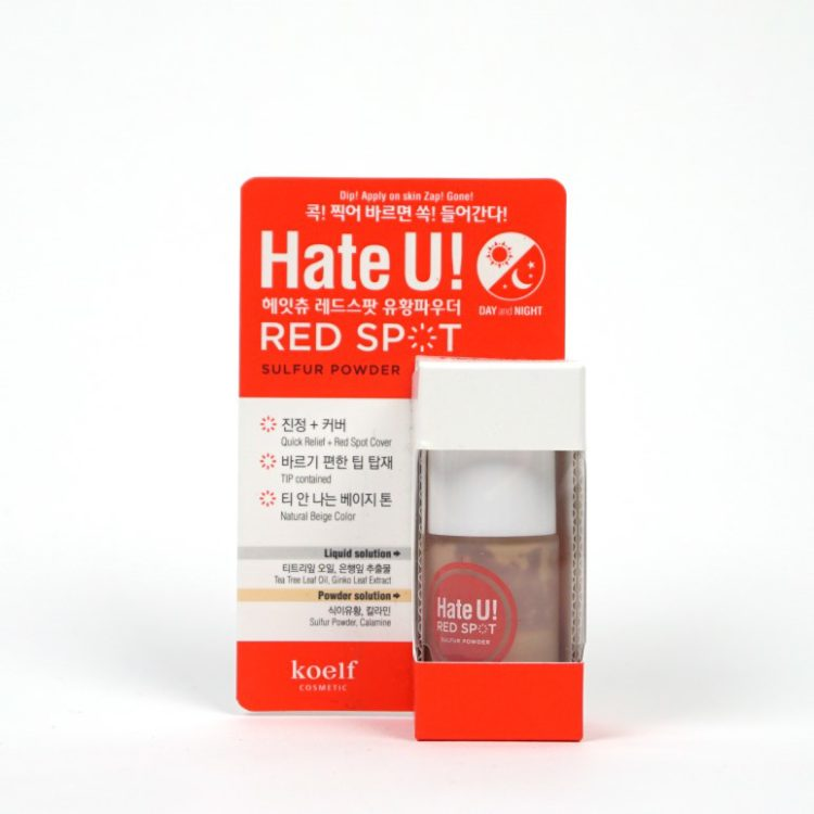KOELF Hate U Red Spot Sulfur Powder review