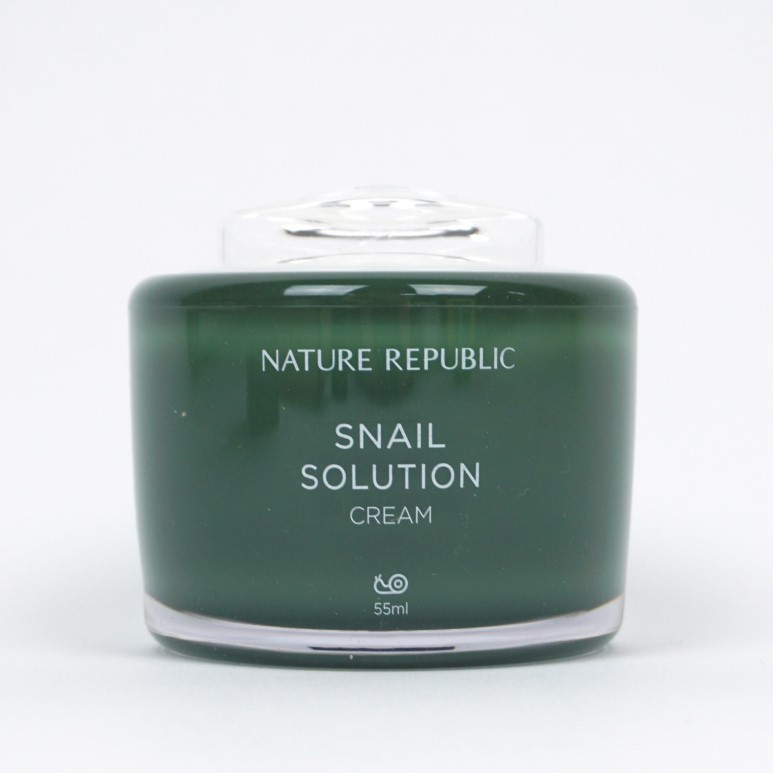 NATURE REPUBLIC Snail Solution Cream review