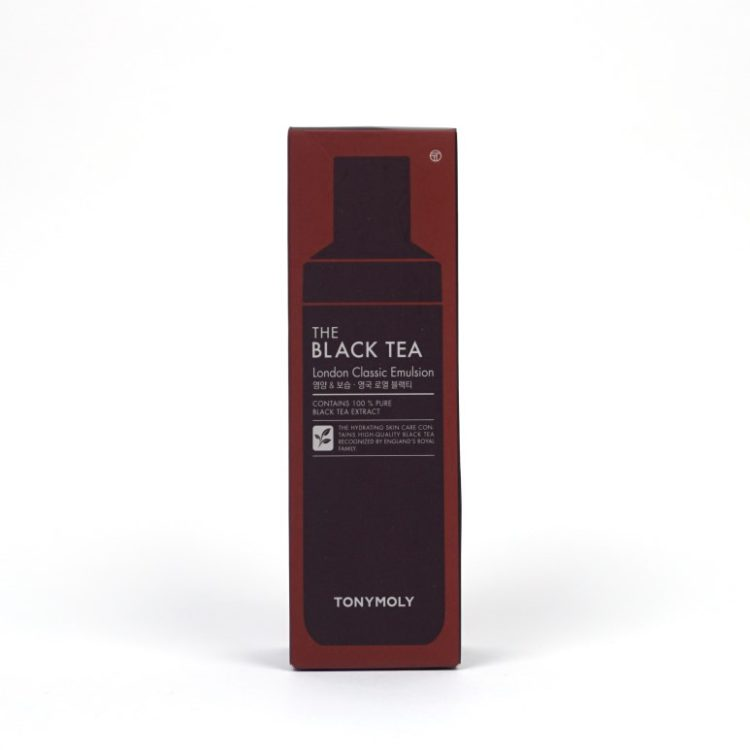 TONYMOLY The Black Tea London Classic Emulsion review