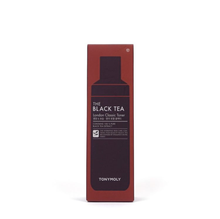 TONYMOLY The Black Tea London Classic Toner review