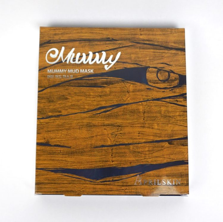 APRIL SKIN Mummy Mud Mask Sheet review