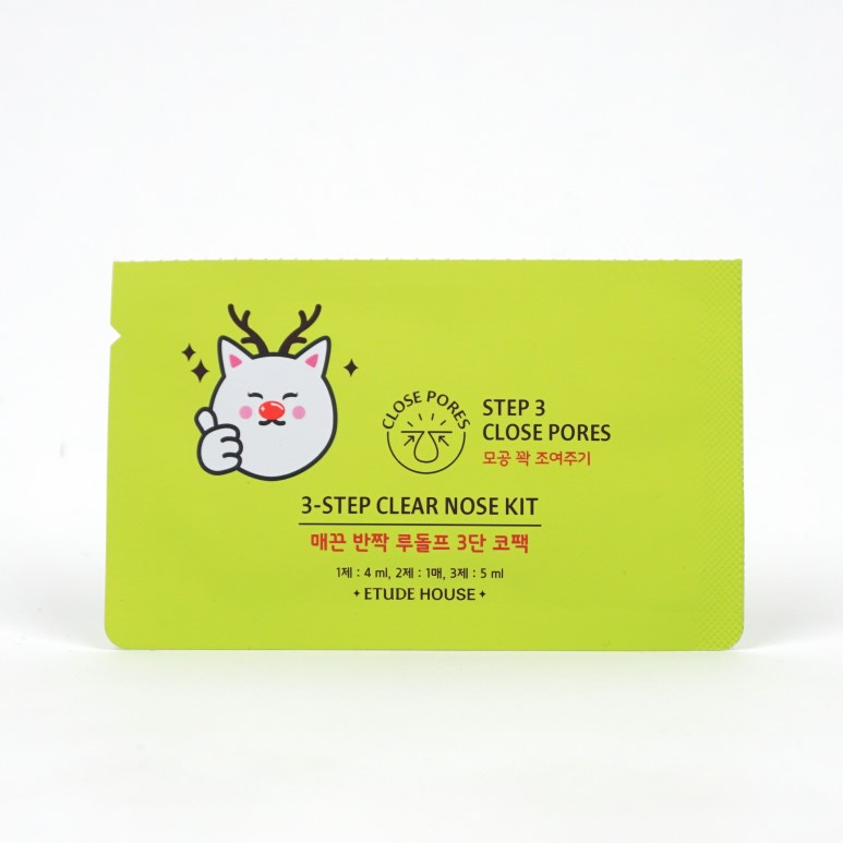ETUDE HOUSE 3-Step Clear Nose Kit review