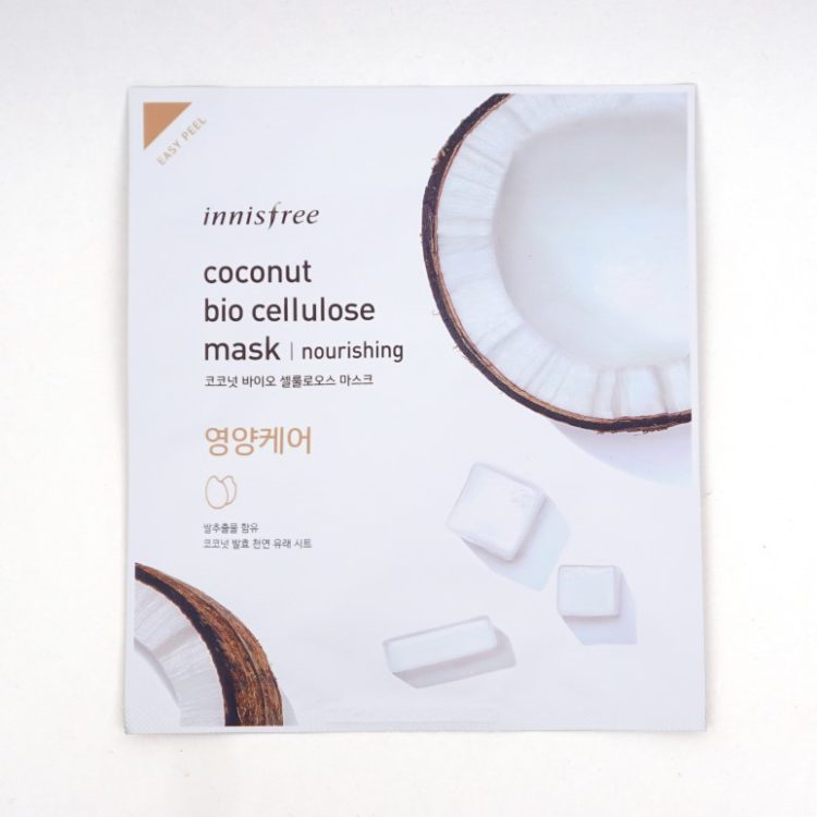 INNISFREE Coconut Bio Cellulose Mask review