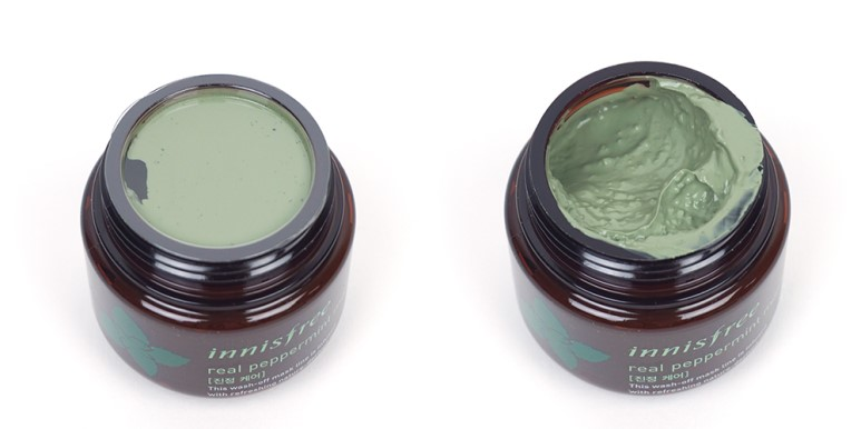 INNISFREE Real Mask Peppermint review