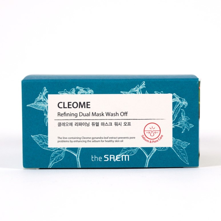 THE SAEM Cleome Refining Duel Mask Wash Off review