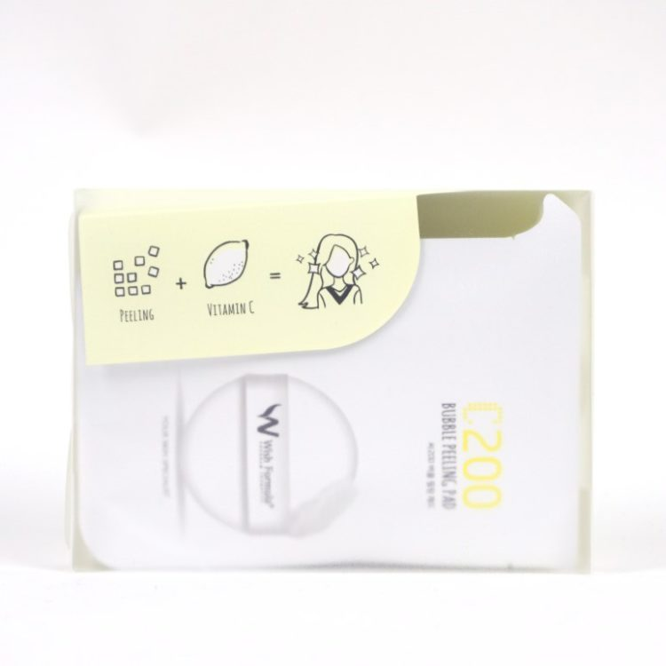 WISH FORMULA C200 Bubble Peeling Pad review