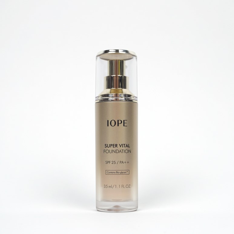 IOPE Super Vital Foundation review