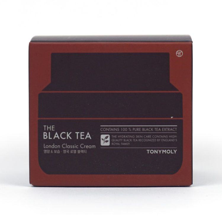 TONYMOLY The Black Tea London Classic Cream review