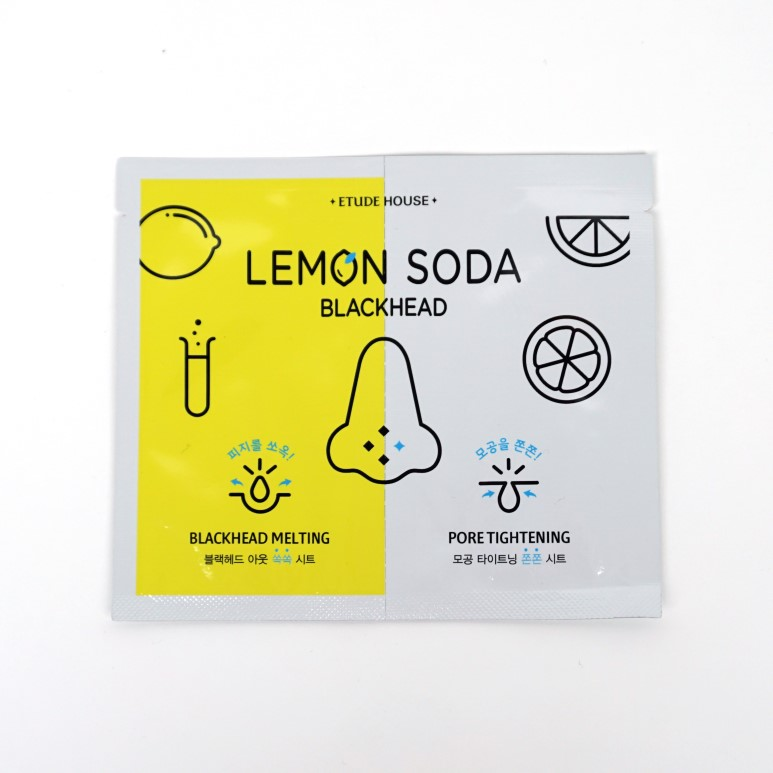 ETUDE HOUSE Lemon Soda Blackhead Dual Kit review