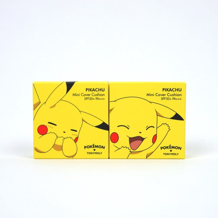 TONYMOLY Pokemon Pikachu Mini Cover Cushion review