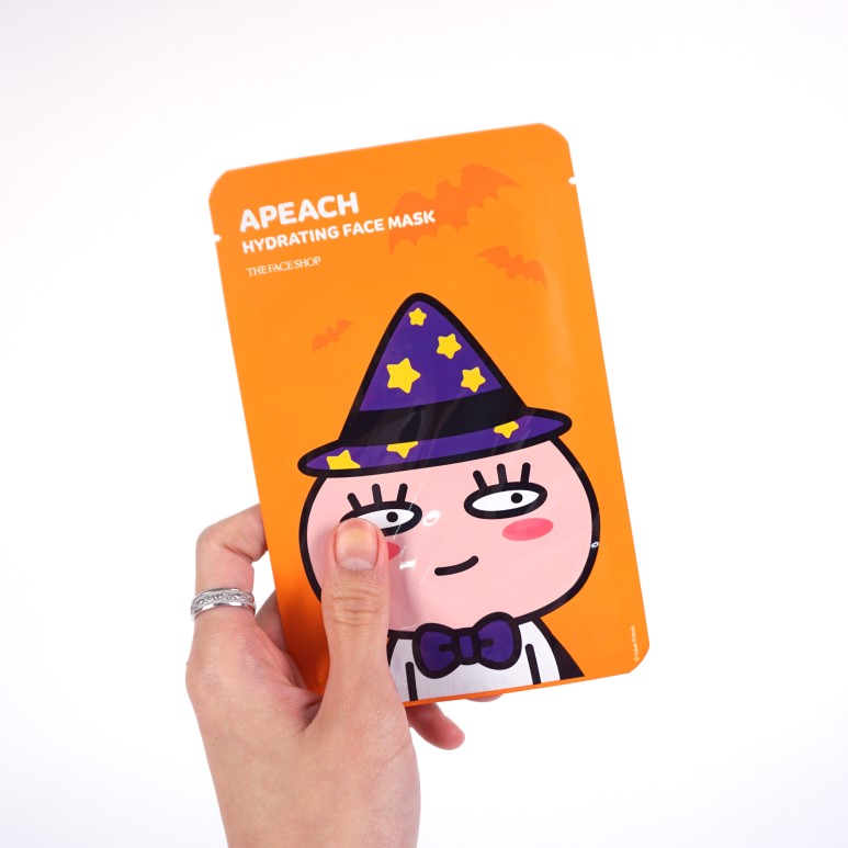 The Face Shop Apeach Hydrating Face Mask review