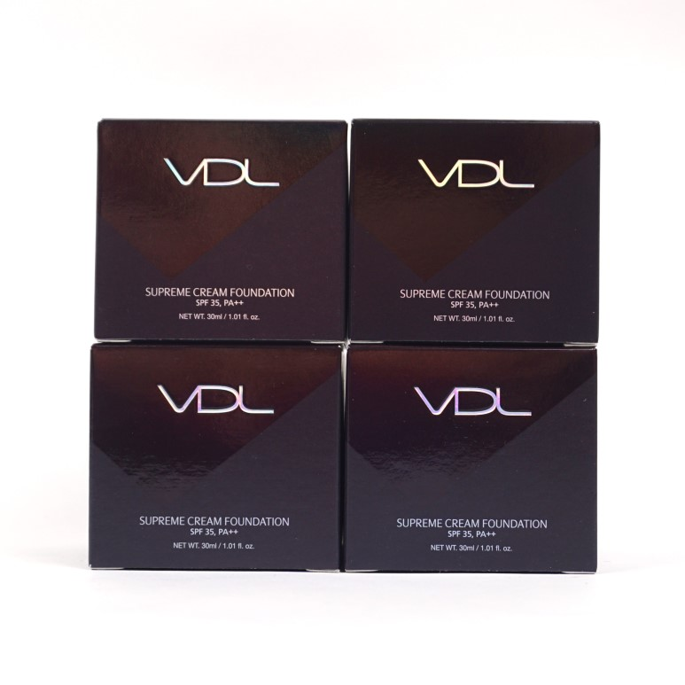 VDL Supreme Cream Foundation review