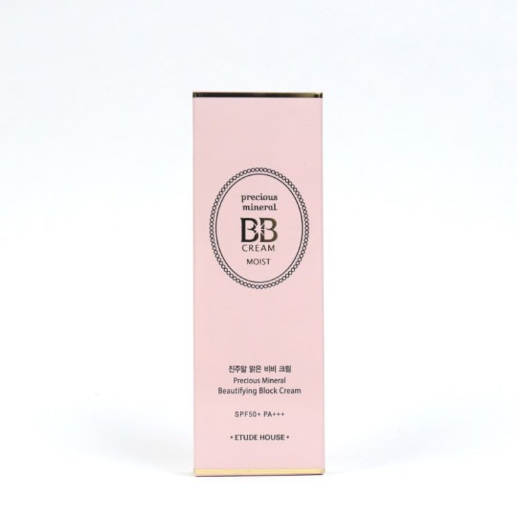 ETUDE HOUSE Precious Mineral BB Cream Moist review
