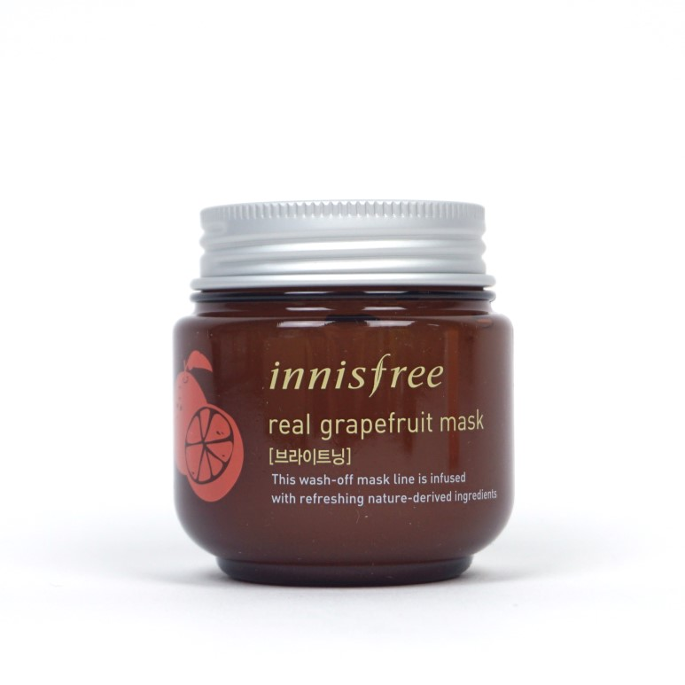 Innisfree Real Grapefruit Mask review