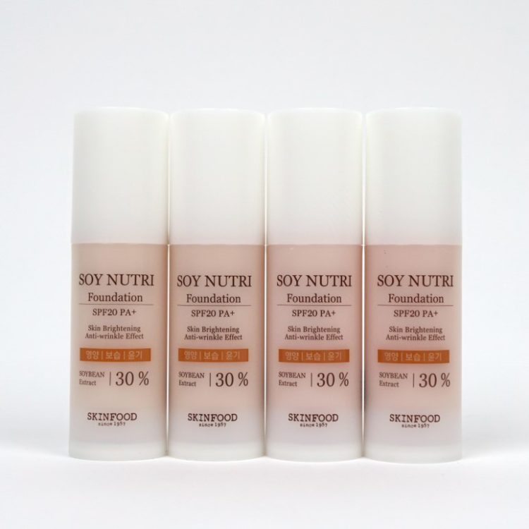 SKINFOOD Soy Nutri Foundation review