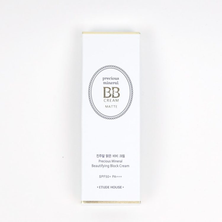 Etude House Precious Mineral BB Cream Matt review