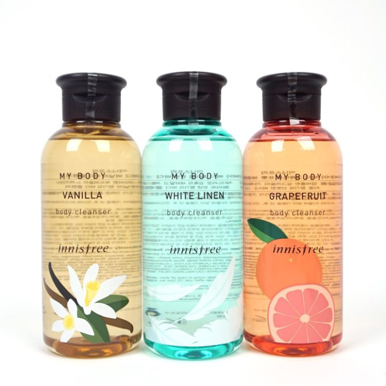 Innisfree My Body Body Cleanser review