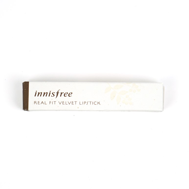 Innisfree Real Fit Velvet Lipstick review