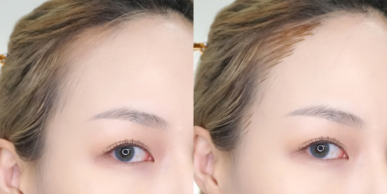 Innisfree Real Hair Make Up Tint review