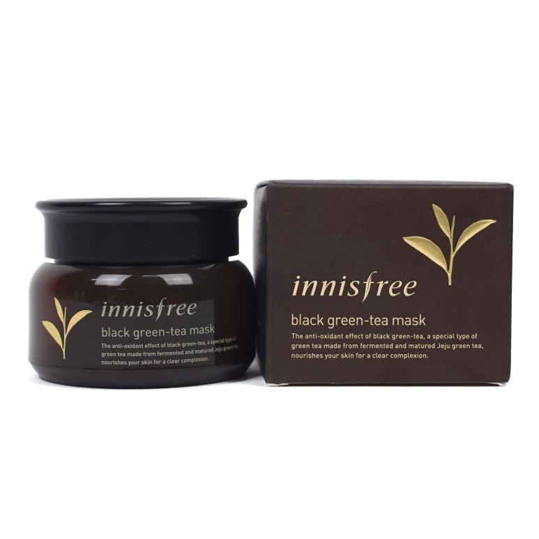 Innisfree Black Green Tea Mask review