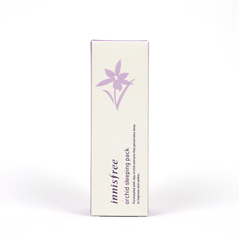 Innisfree Jeju Orchid Sleeping Pack review