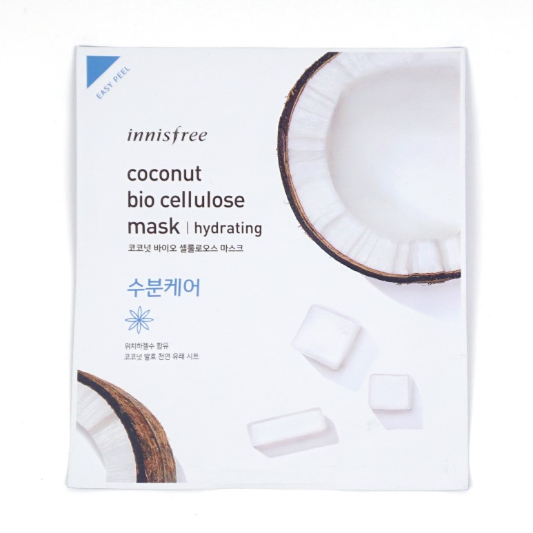 Innisfree Coconut Bio Cellulose Mask Hydrating review