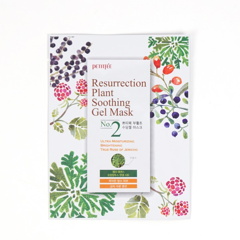 Petitfee Resurrection Plant Soothing Gel Mask review