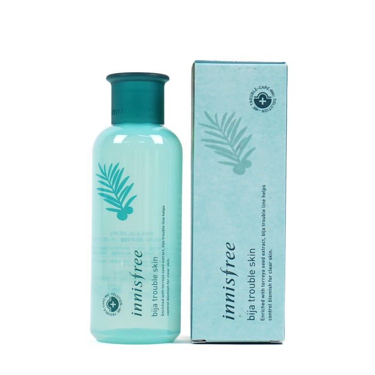 Innisfree Bija Trouble Skin review
