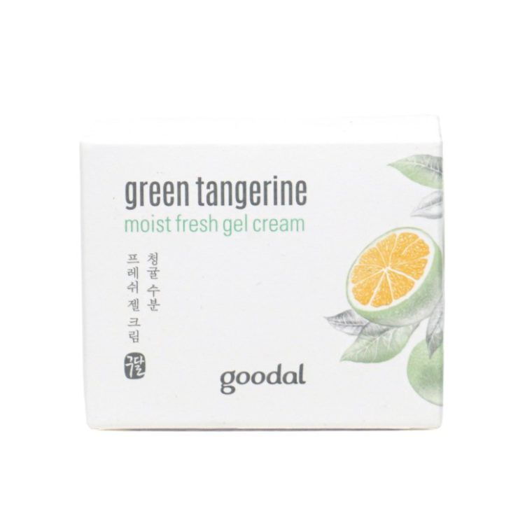 Goodal Green Tangerine Moist Fresh Gel Cream review