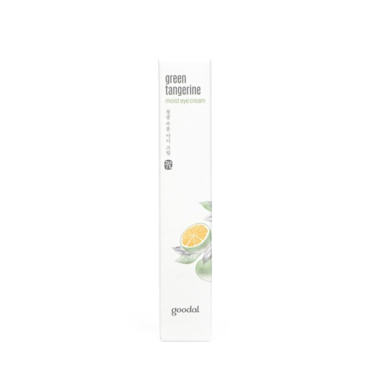 Goodal Green Tangerine Eye Cream review
