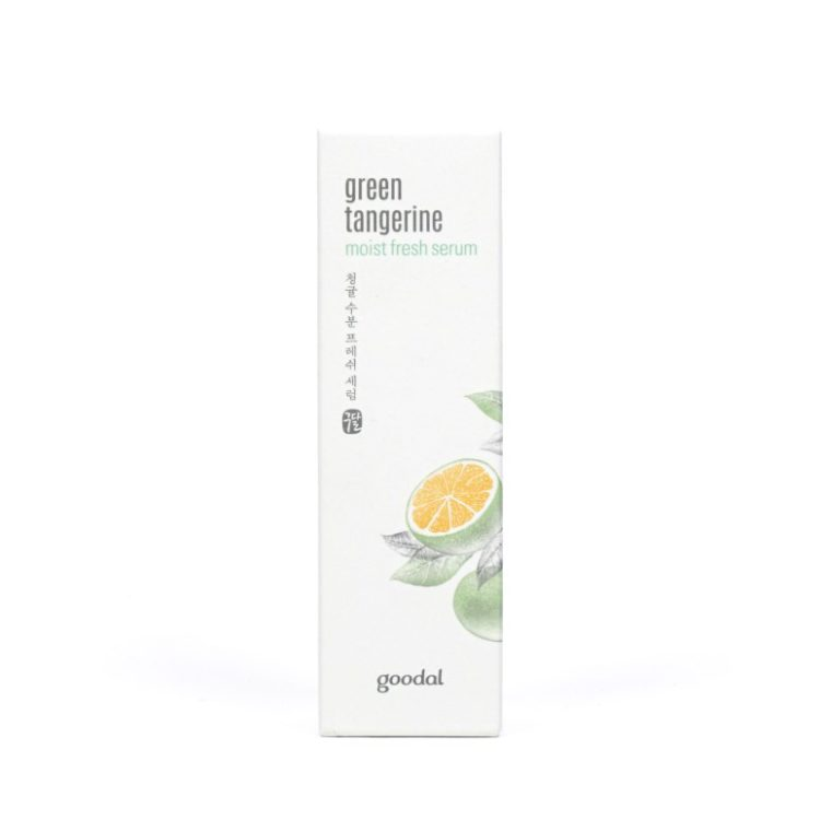Goodal Green Tangerine Moist Fresh Serum review