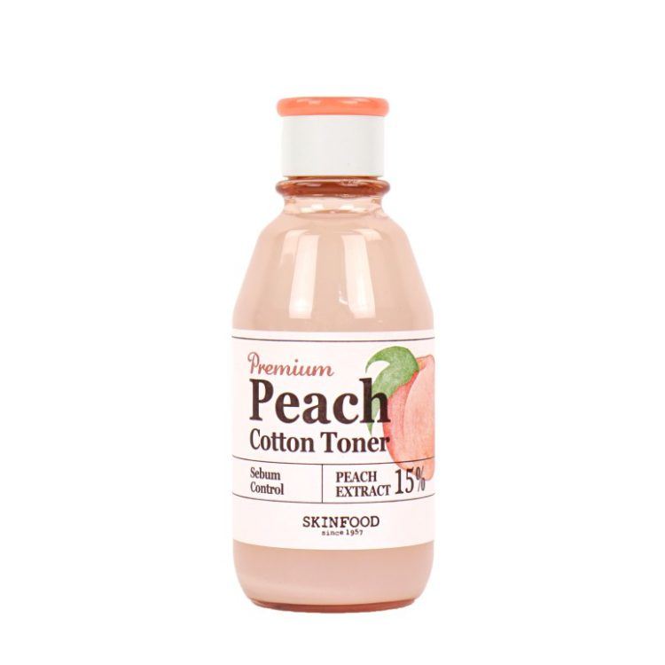 SkinFood Premium Peach Cotton Toner review