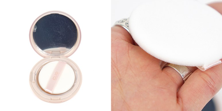 Clio Nudism Moist Fit Powder Pact review