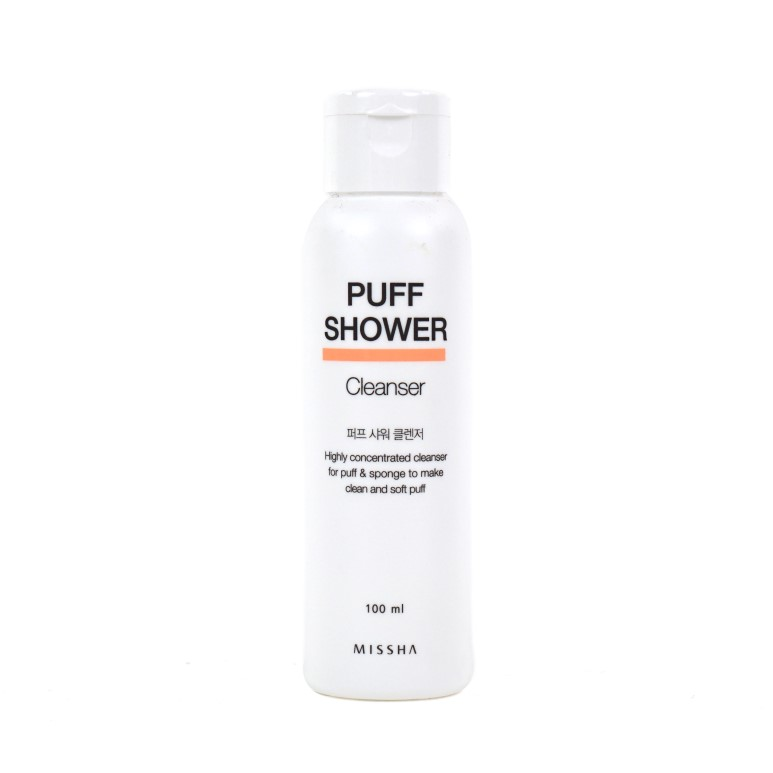 Missha Puff Shower Cleanser review