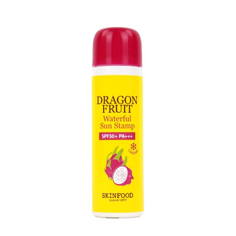 SkinFood Dragon Fruit Waterful Sun Stamp review