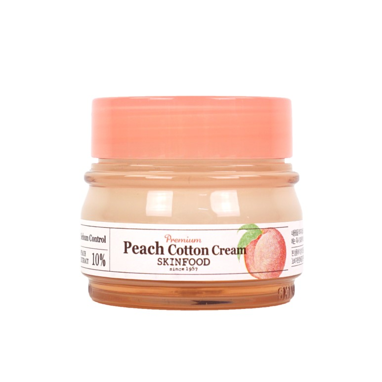 SkinFood Premium Peach Cotton Cream review