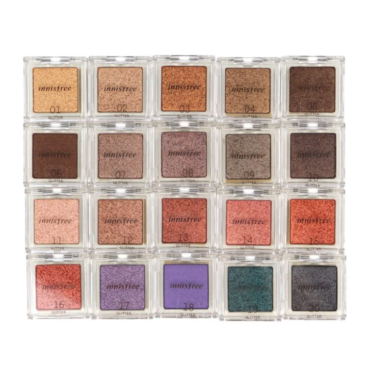 Innisfree My Palette My Eyeshadow Glitter review