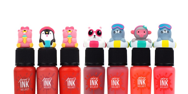 Peripera Ink The Velvet/Ink The Airy Velvet New Colors review
