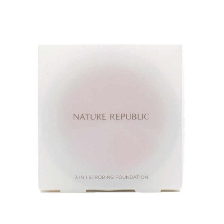 Nature Republic Provence Intense Cover 3 In 1 Strobing Foundation review