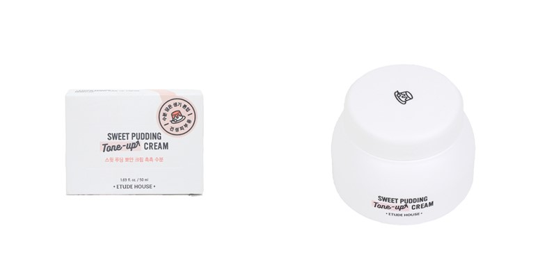Etude House Sweet Pudding Tone-Up Cream review