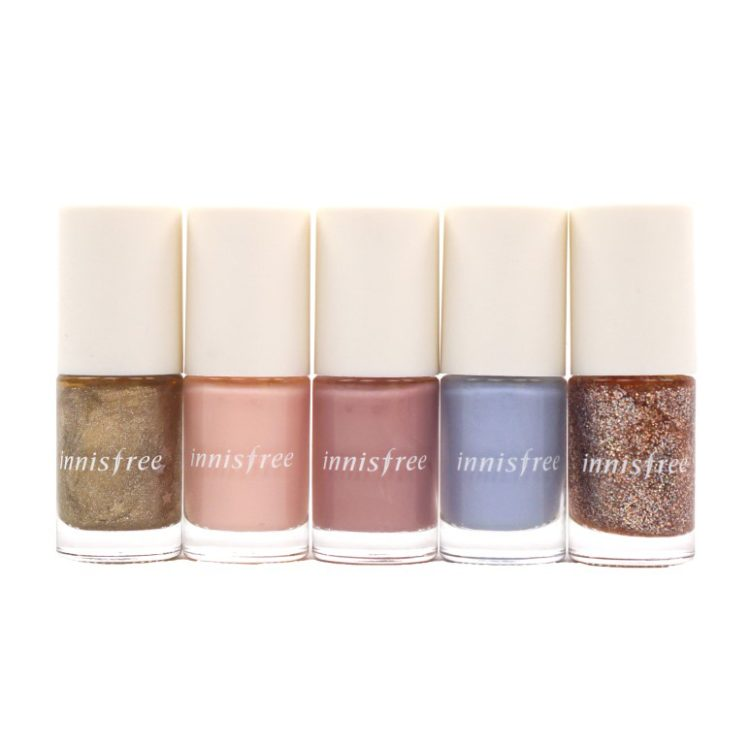 Innisfree Real Color Nail Ballerina Collection review