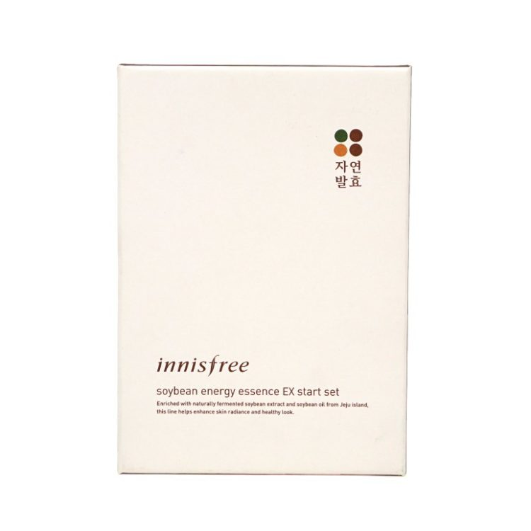 Innisfree Soybean Energy Essence EX Start Set review