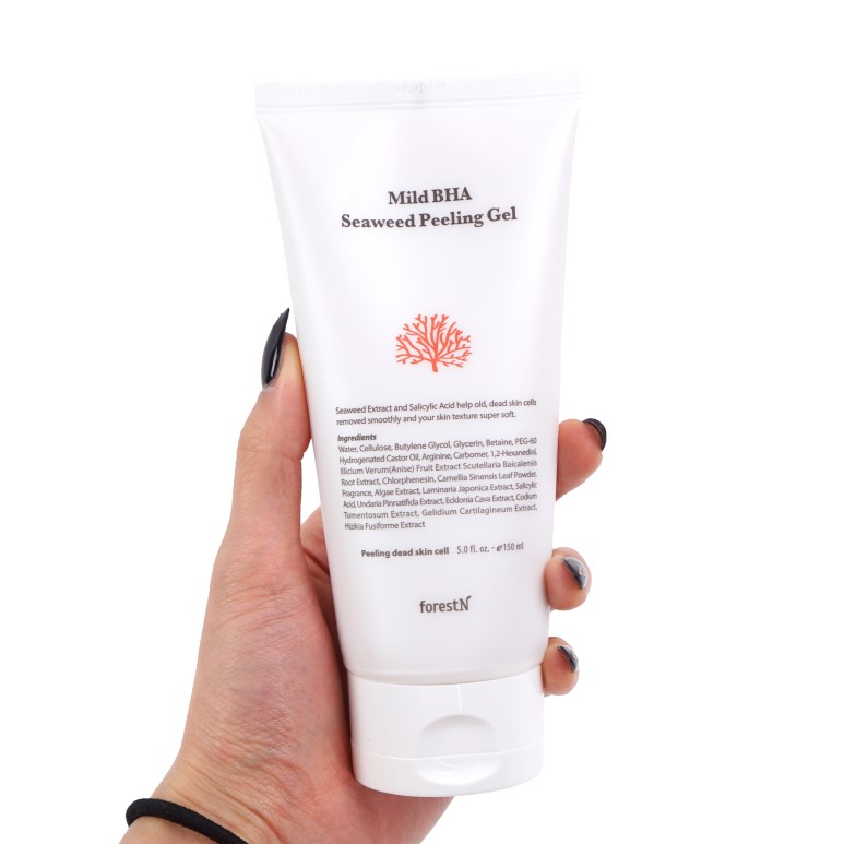 forestN Mild BHA Seaweed Peeling Gel review